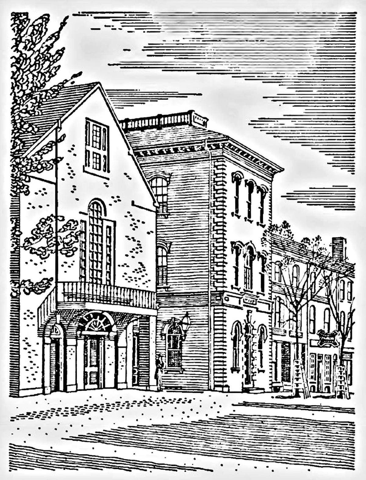 Jefferson Hall in Portsmouth.