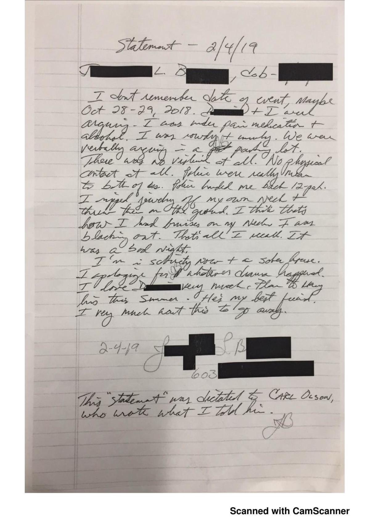 Burpee letter