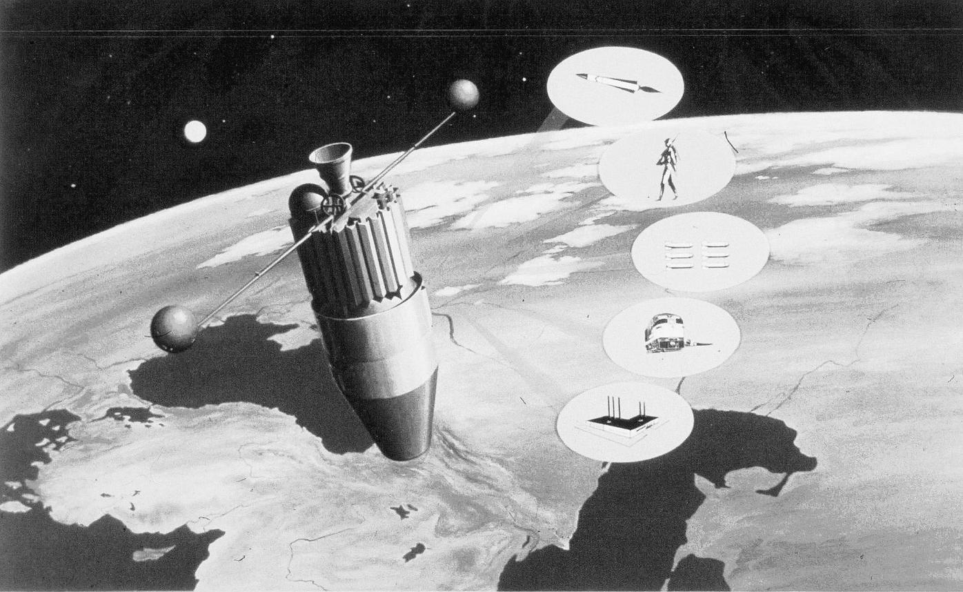 SAMOS satellite promotional image