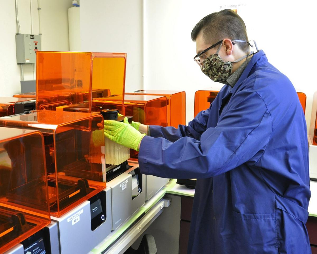 Portsmouth Naval Shipyard producing test swabs for COVID-19 for Army