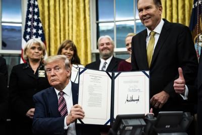 trump7Donald Trump signed the Preventing Animal Cruelty and Torture Act on Monday