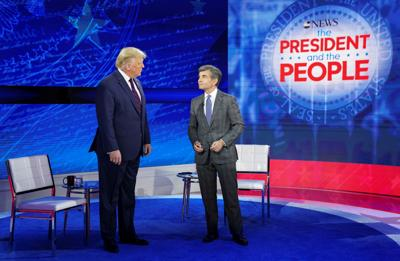 Trump attends ABC News town hall event in Philadelphia, Pennsylvania