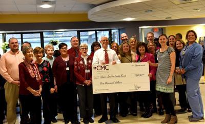 Santa Fund donor photo - Catholic Medical Center