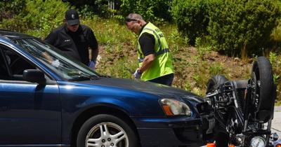 Fatal Manchester motorcycle crash - Cropped