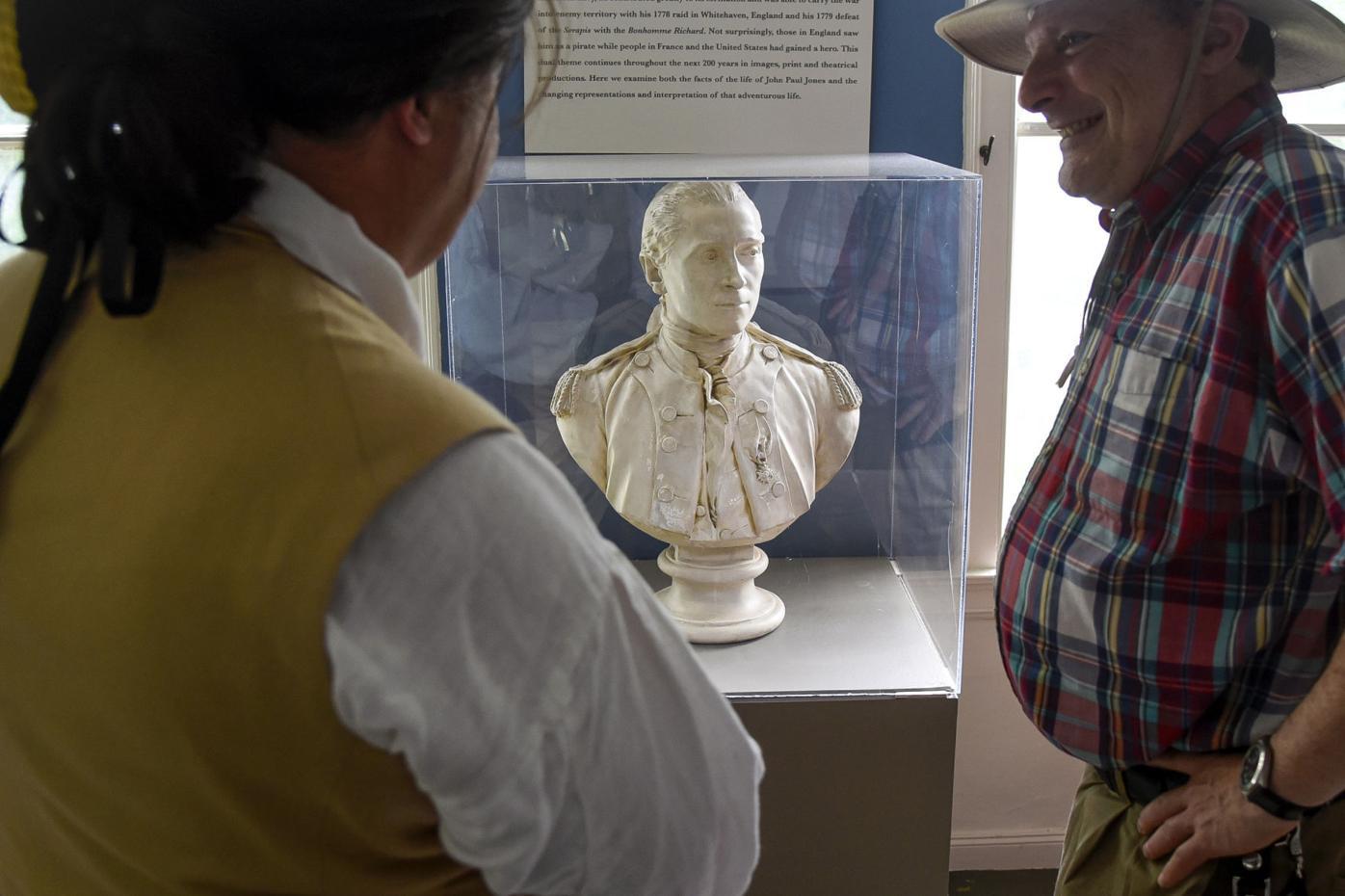 John Paul Jones bust