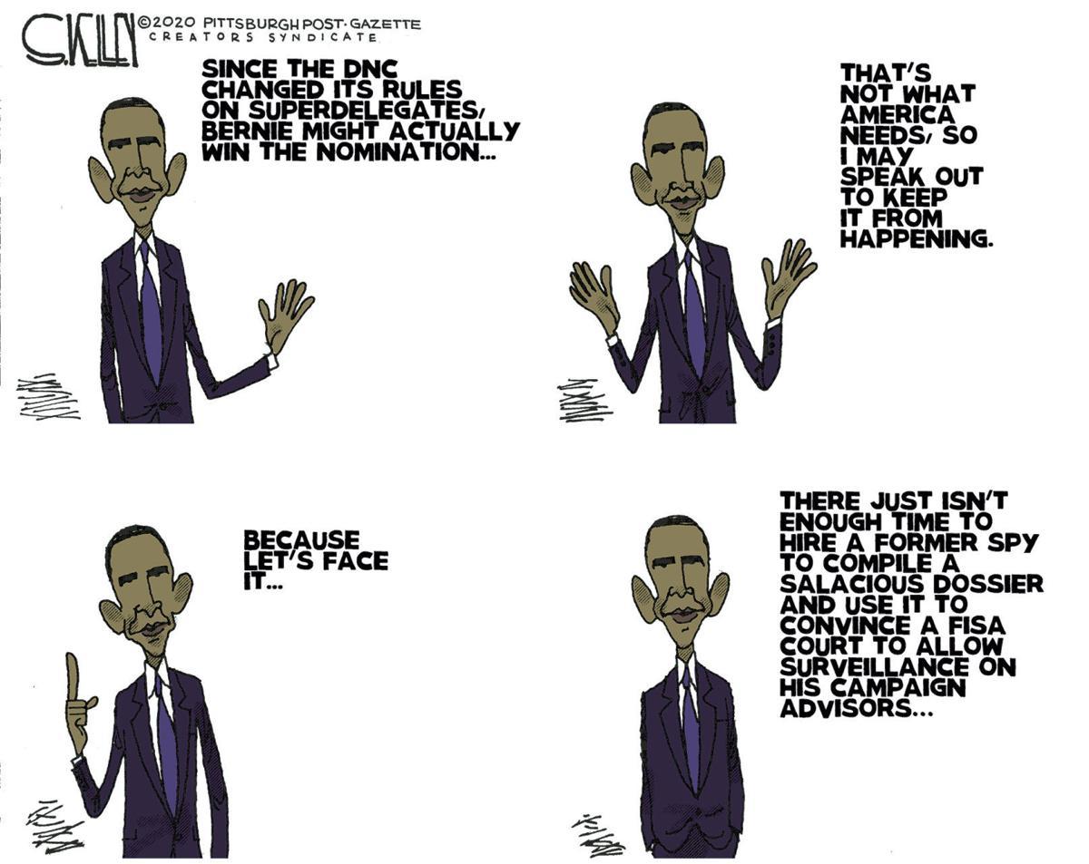 Editorial Cartoon, Jan. 28, 2020