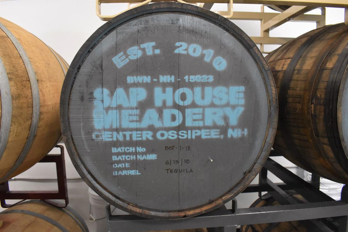 Sap House Meadery barrel