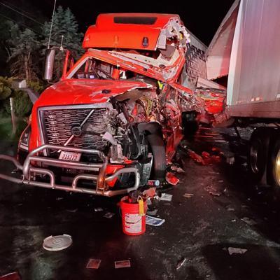 Chesterfield truck crash