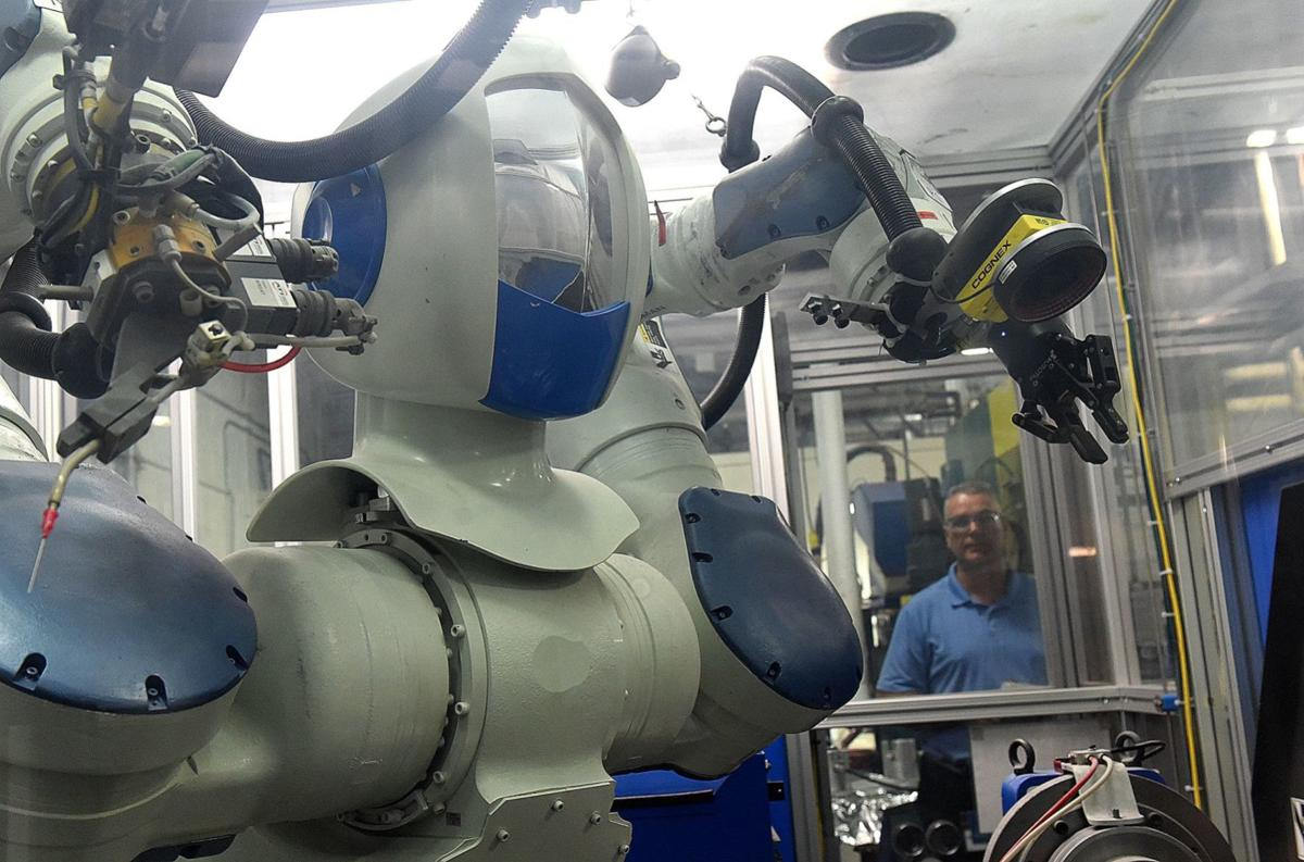 Automation Engineering manager Doug Holt
