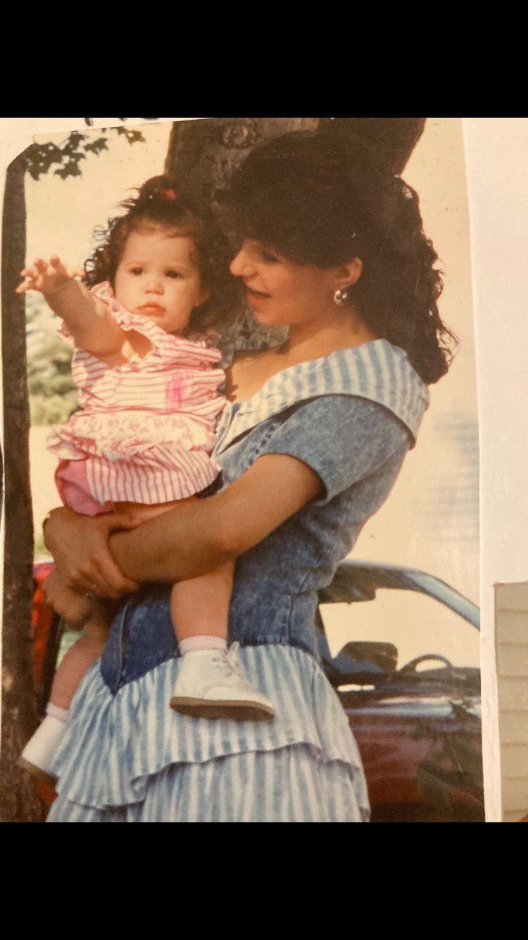 Nancy Burgess and daughter