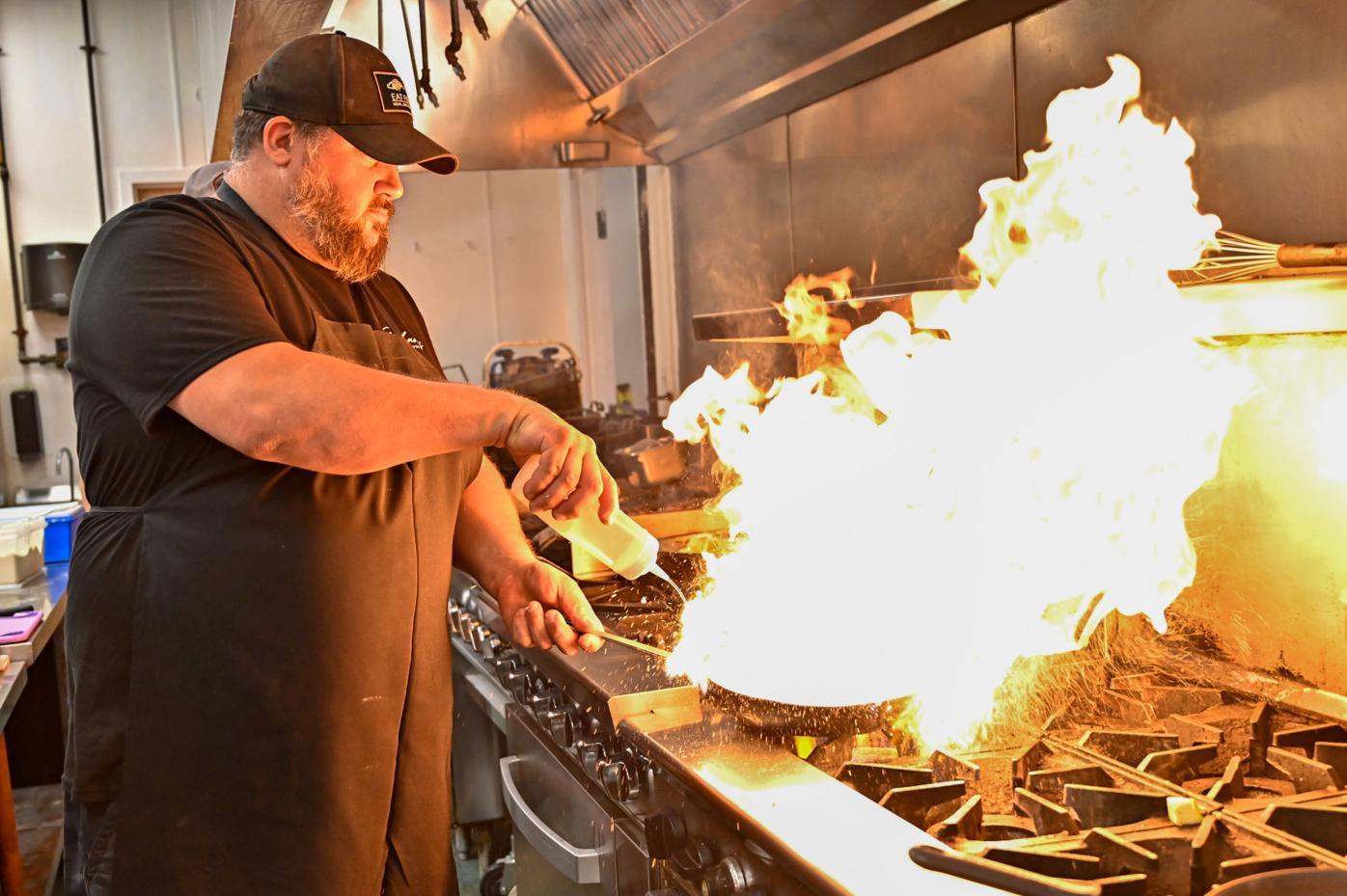 Zachary's chef owner