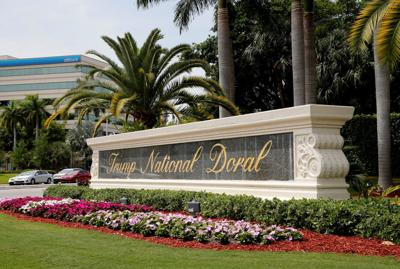 The Trump National Doral golf resort is shown in Doral, Fla.