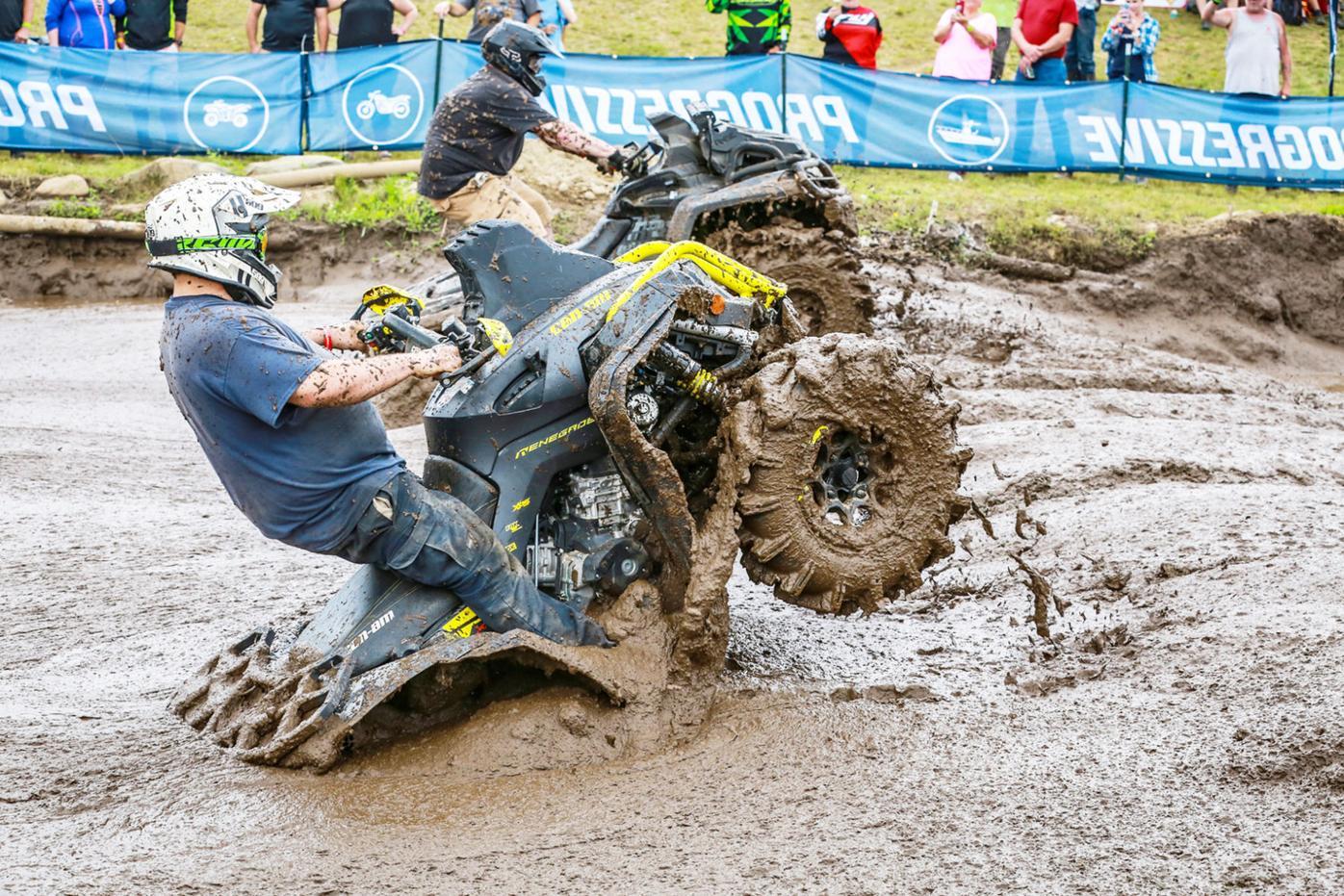 Muddy course