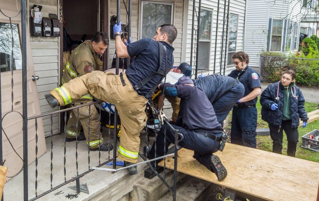 Rescue crew solves a problem