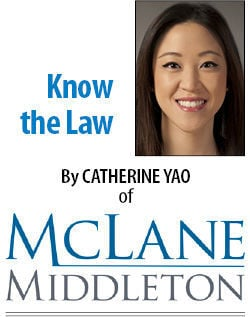 Know the Law: Catherine Yao