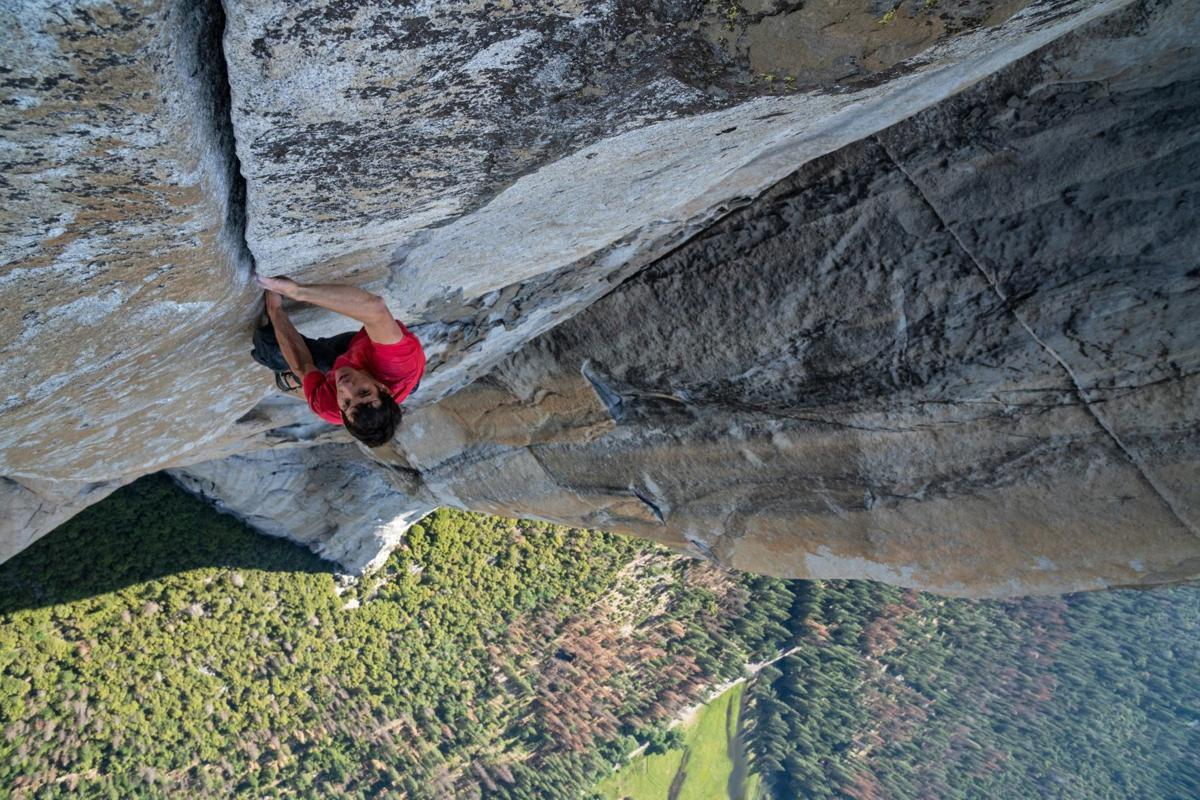How do you climb 3,000 feet without a rope? Find out from an Oscar winner