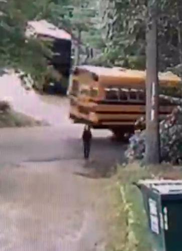 Wilton school bus