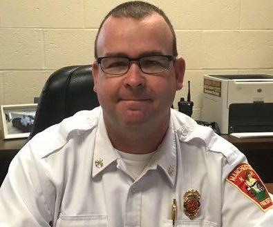 Asst. Fire Chief Brendan Burns