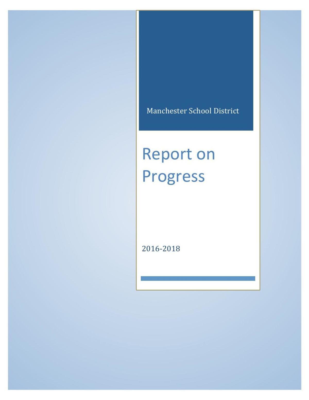 Manchester Schools Progress, 2016-18