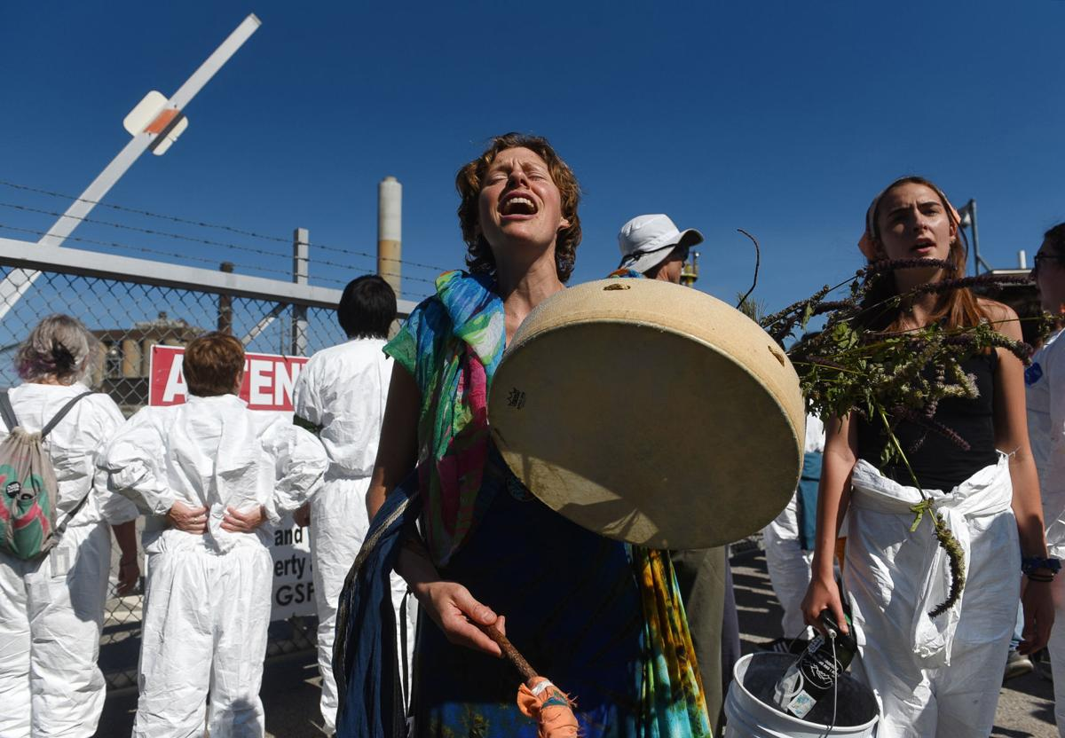Activists call for Bow power plant to be shut down; dozens arrested