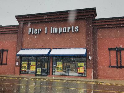 Pier 1 in Keene closed