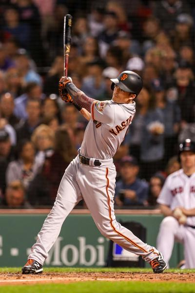 Giants at Boston Red Sox