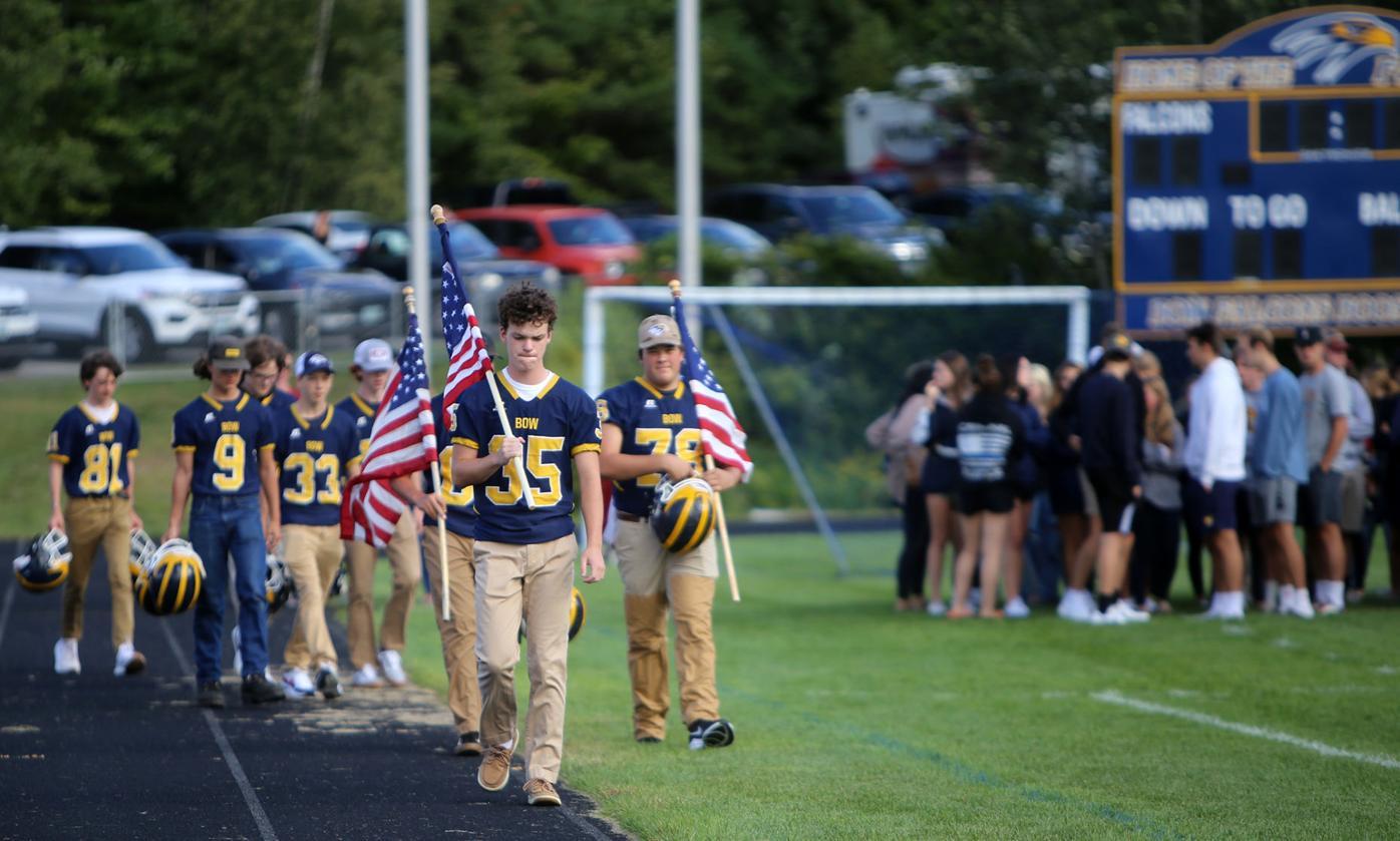 Bow High remembers crash victims at vigil