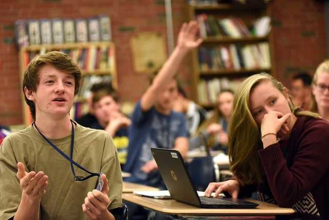 NH students tackle tough questions as civics lessons sharpen their minds