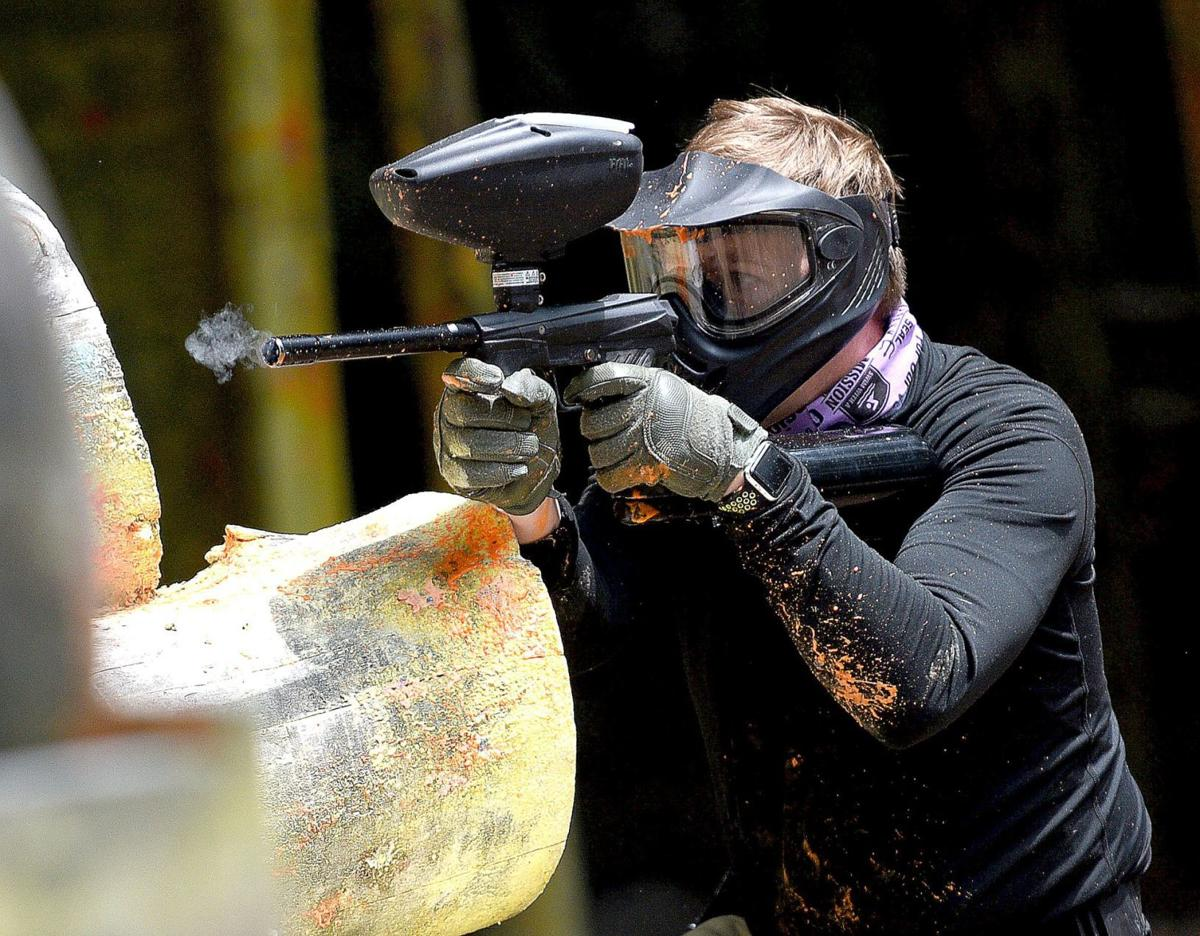 Paintball with the SEALS