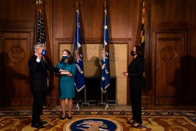 Merrick Garland is sworn in