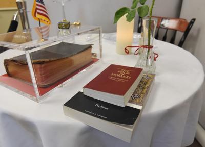 Bible on display