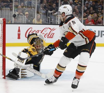 NHL: Anaheim Ducks at Boston Bruins