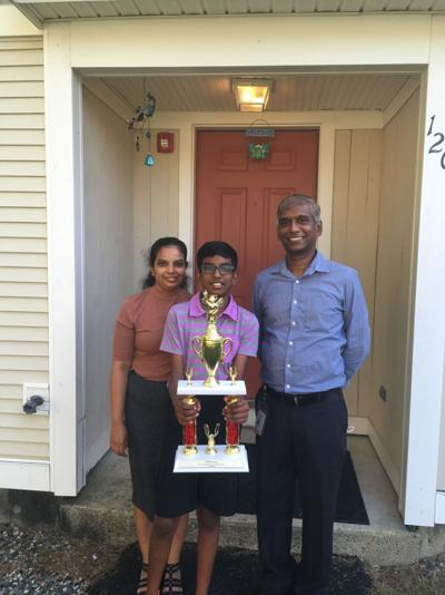 Two-time state spelling bee champion seeks national title
