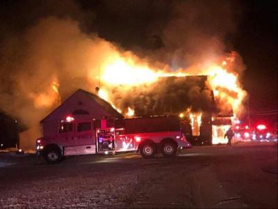 Jefferson Town Hall fire