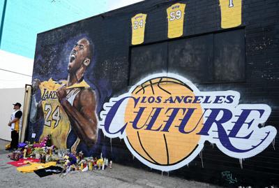 NBA: NBA:Staples Center-Koby Bryant Tribute