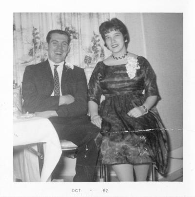 Morris and wife