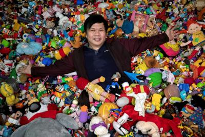 Meet the world record holder for the largest fast food toy collection