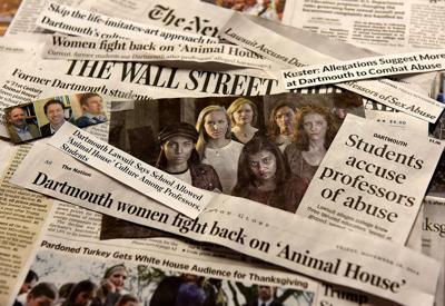 Dartmouth media blitz illustration