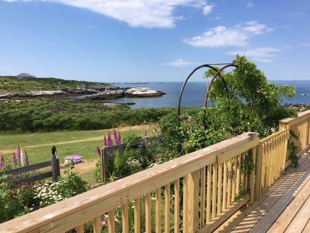 Celia Thaxter garden