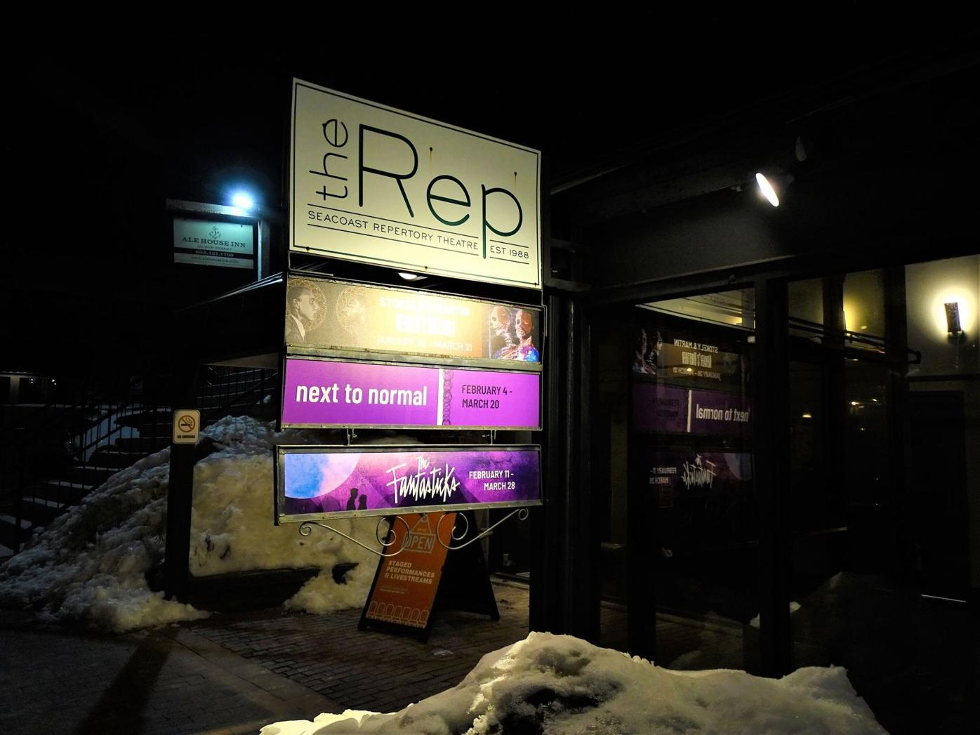 Seacoast Repertory Theatre in Portsmouth