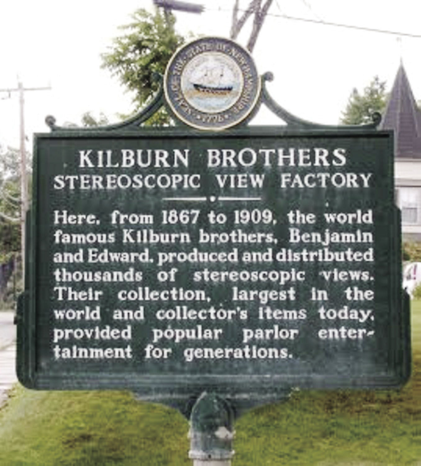 Roadside History: Kilburn Brothers Stereoscopic View Factory offered early 3D technology