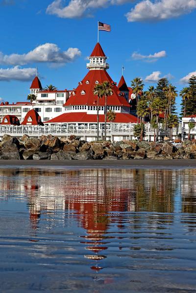 Southern California by train: Coronado Beach