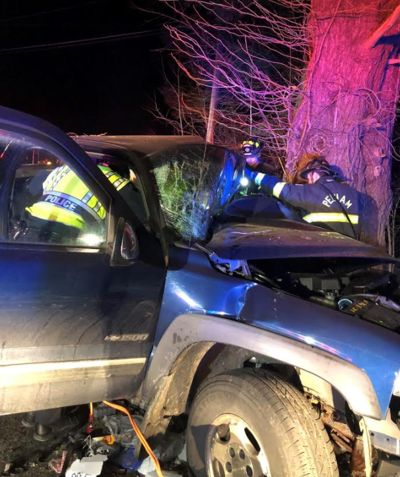Hudson Man Suffers Life Threatening Injuries In Pelham Truck Crash
