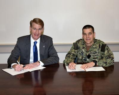 PNSY and UMass Lowell sign educational partnership agreement