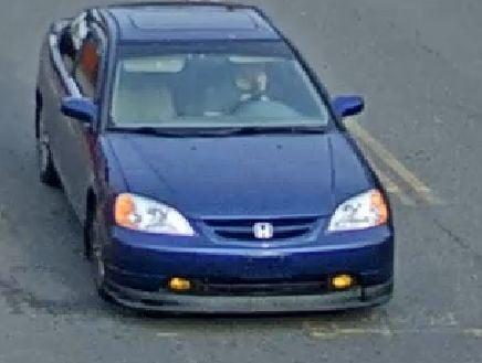 Amber suspect car