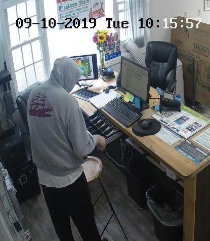 U-Haul theft in Brentwood