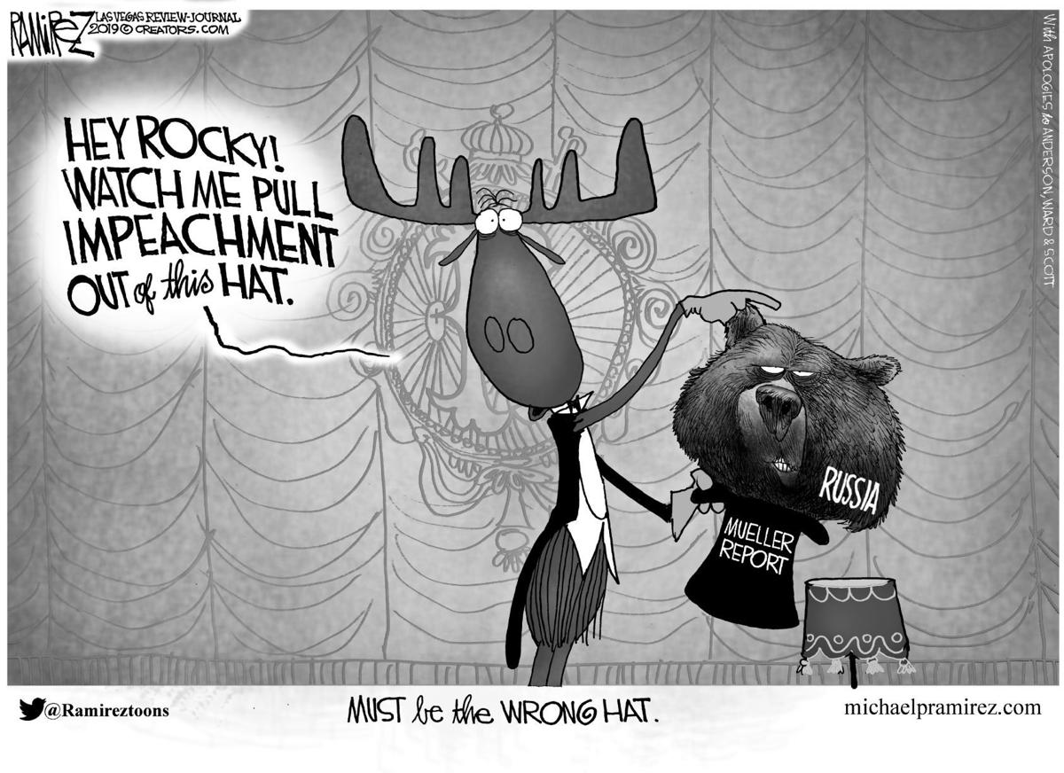 Editorial Cartoon, May 24, 2019