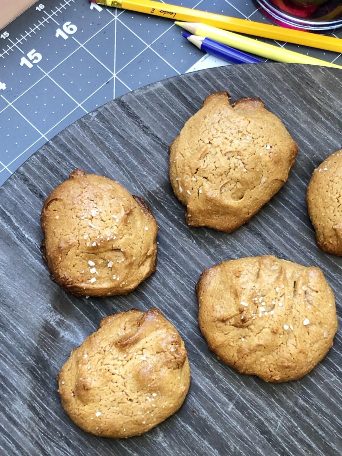 Sea Salt Almond Butter Cookies