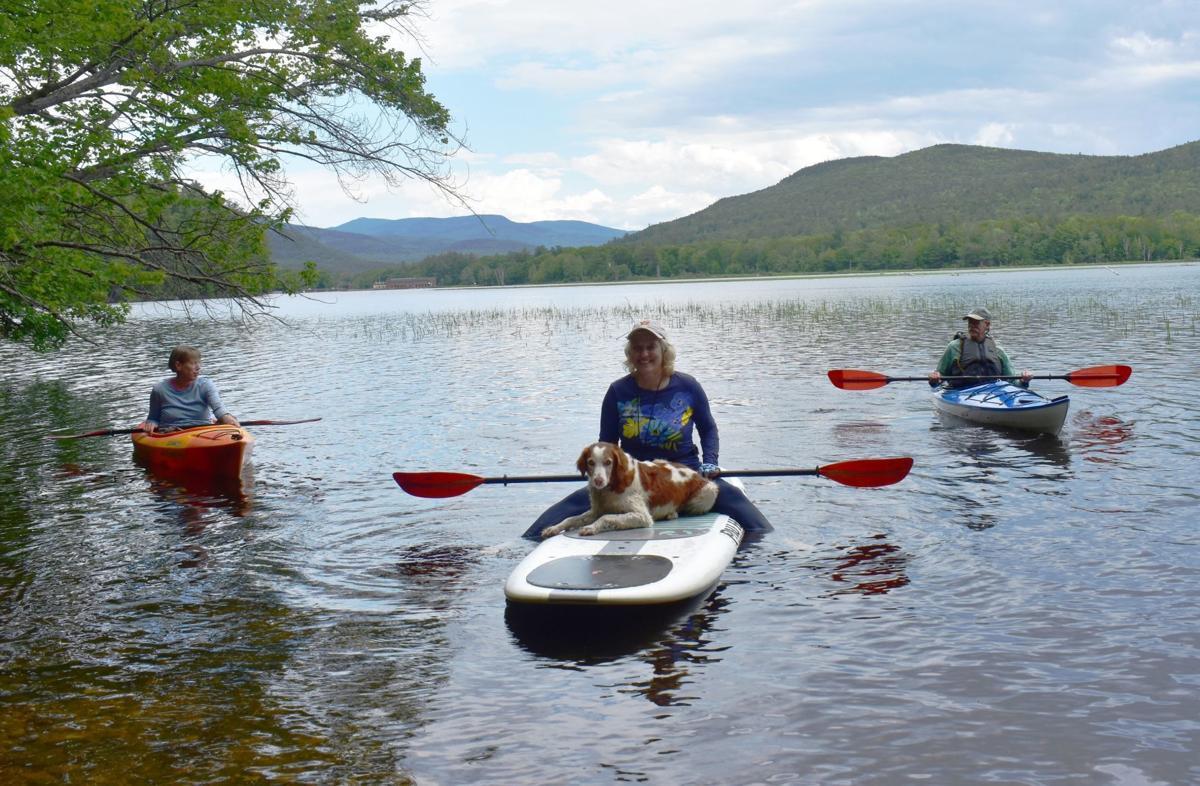 Four in kayaks