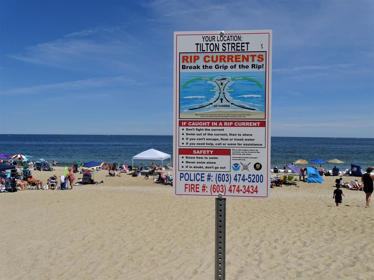 Seabrook rip currents